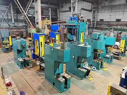 Прессы гидравлические 63-400 тн после ремонта