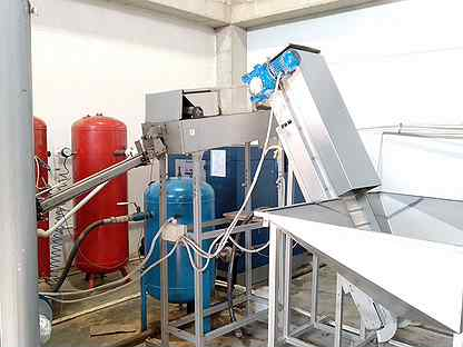 Автомат выдува пэт бутылок А-3000 + линия воздуха