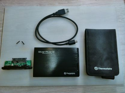 Внешний корпус для ноутбучного жесткого диска